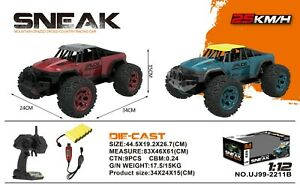 1-12-RC-Monster-escondidas-grosero-Buggy-Alta-Velocidad-Rapida-control-remoto-coche-RTR-Off-Road