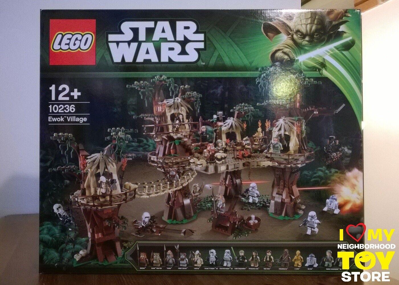 RETIrojo - LEGO 10236 UCS STAR WARS™ VILLAGGIO DEGLI EWOK™ VILLAGE (2013) - NISB