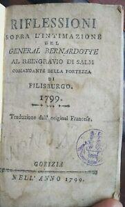 1799-NAPOLEONICA-PAMPHLET-SULL-039-ASSEDIO-DI-PHILIPSBURG-DEL-GENERALE-BERNADOTTE