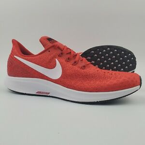 Details about Nike Air Zoom Pegasus 35 Running Shoes Men's Size 11.5  University Red White