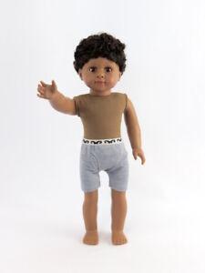 Isaac-Boy-Doll-Undressed-18-039-039-doll-by-American-Fashion-World-New