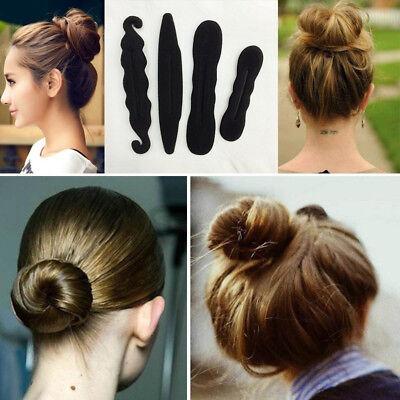 Femme Fille Cheveux Chignon Coiffure Bandeau Accessoire Bun Donut Twist Tools NF