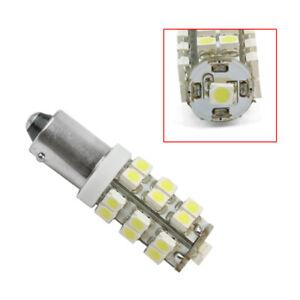 2-x-BA9S-T4W-Weiss-Licht-3528-SMD-25-LED-Auto-Lampe-Birne-12V-T11-KFZ-Standlicht