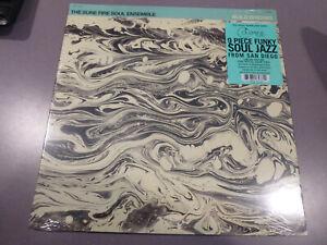 THE-SURE-FIRE-SOUL-ENSEMBLE-Build-Bridge-LP-ltd-clear-Vinyl-NEU-amp-OVP