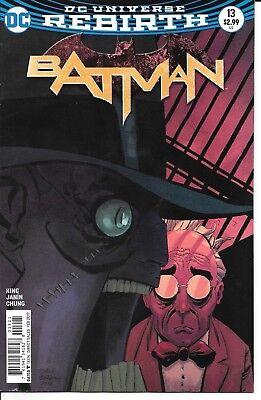 DC Comics Rebirth BATMAN issue #6 cover B first printing