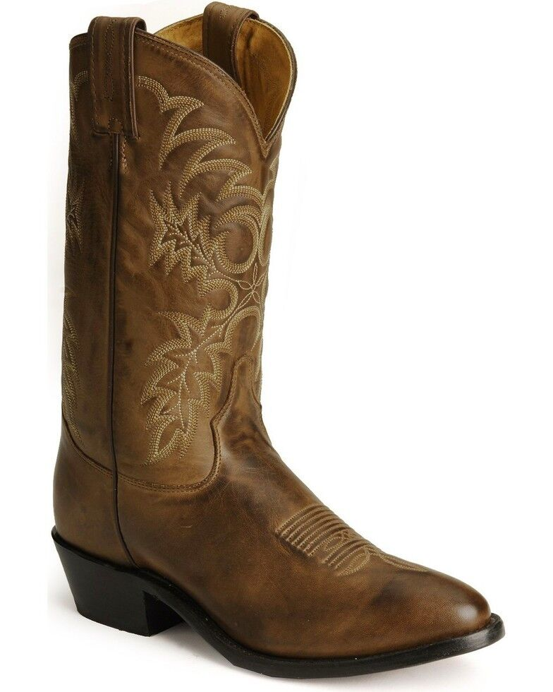 Tony Lama Men's Stallion Americana Western  Brown Boots 7901 Size 11 EE