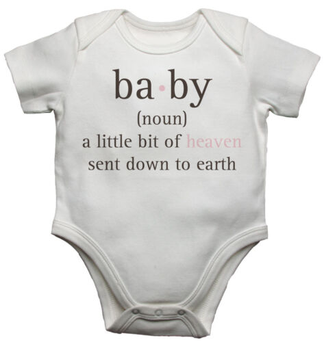 nom un peu de ciel fait descendre sur terre-gilets bébé-Unisexe Baby