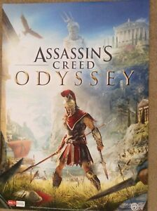 ASSASSINS CREED ODYSSEY OFFICIAL POSTER,VIDEO GAMES ,ACTION, ATRRACTIVE 595x420