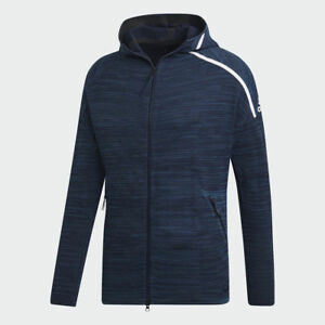 Details about Adidas Men's Z.N.E Parley Full Zip Hoodie (Retail $180)