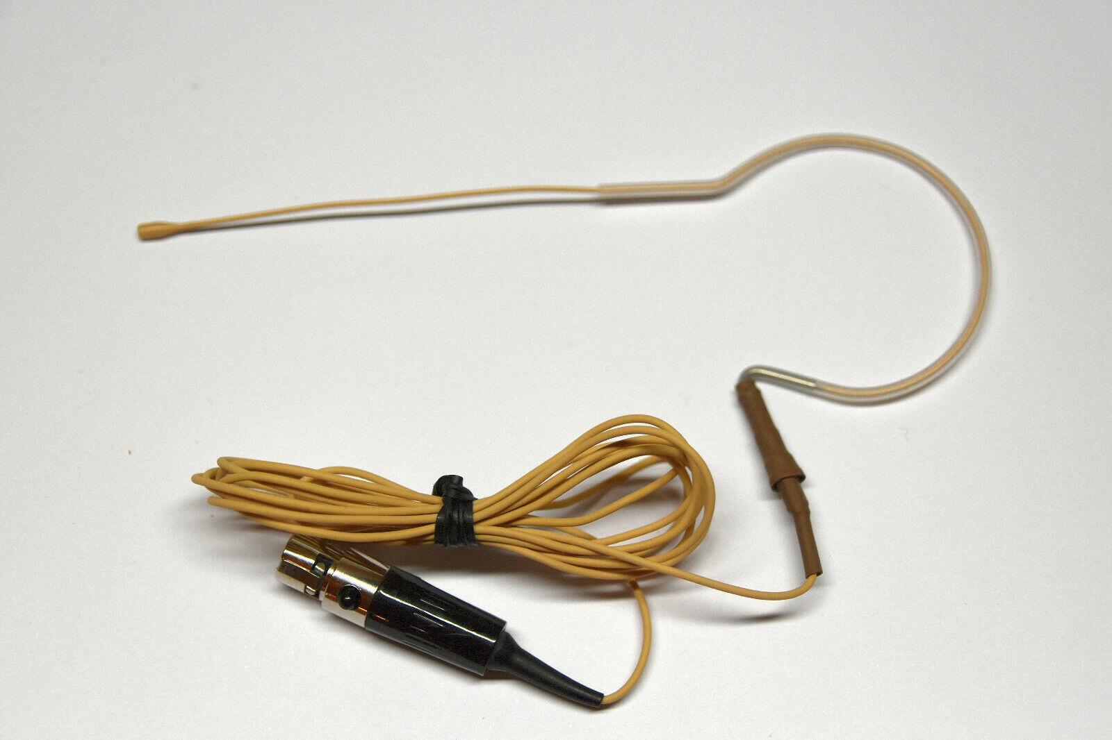 Countryman E6 Professional Earset Mic NORMAL Sensitivity, OMNI, BEIGE for Shure