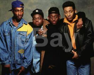 Juice-1992-Tupac-Shakur-Jermaine-Hopkins-Omar-Epps-Khalil-Kain-10x8-Photo