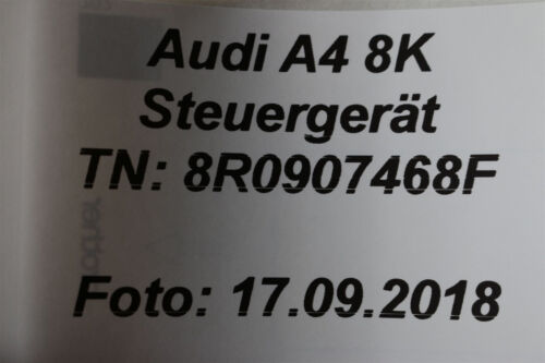 Audi A4 8K A5 8T Q5 Gateway Steuergerät 8R0907468F Diagnose Interface Datenbus