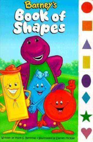 Barney Ser Barney S Book Of Shapes By Lyrick Publishing Staff And Mark S Bernthal 1998 Children S Board Books For Sale Online Ebay