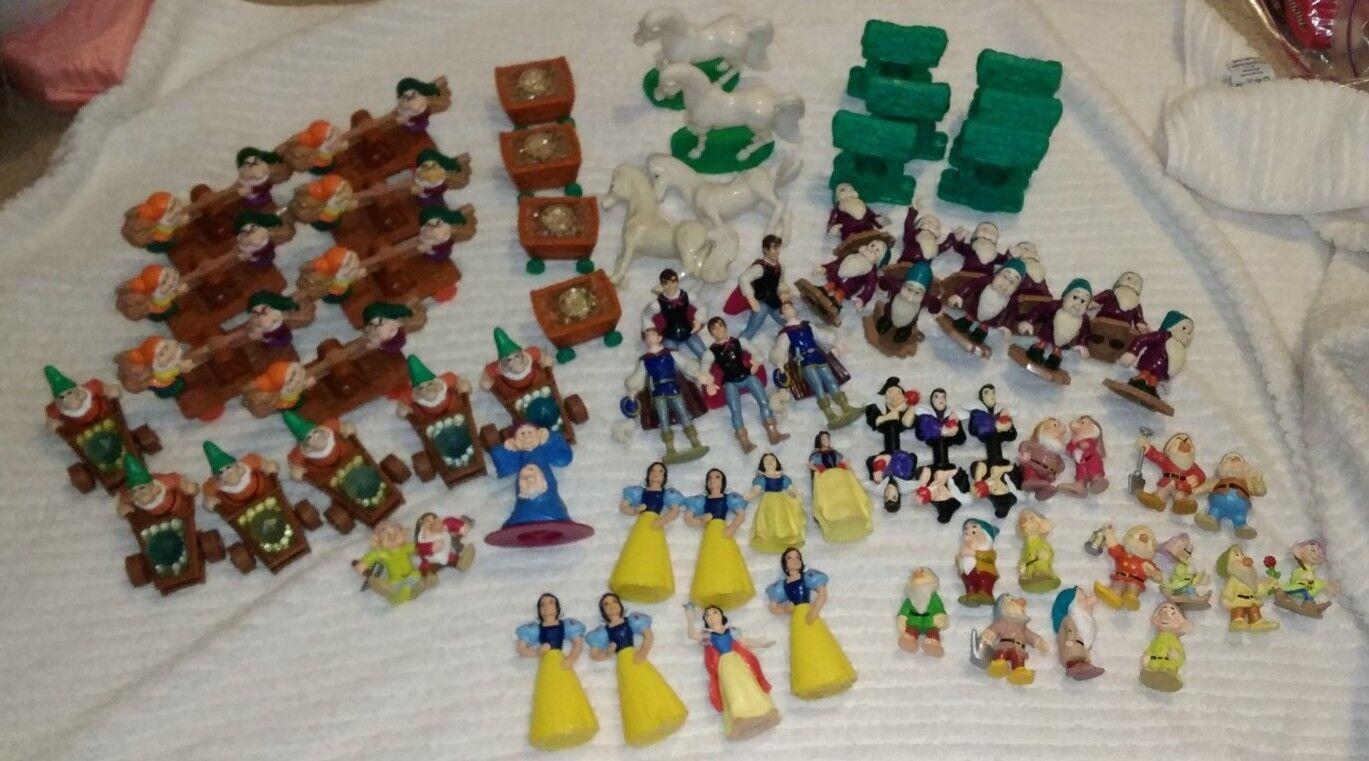 HUGE Snow White Kids Meal Toy Lot 69 pieces pieces pieces 688afc
