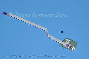 """TOSHIBA Satellite P775 Series P775-S7100 17.3/"""" Laptop Power Button Membrane"""