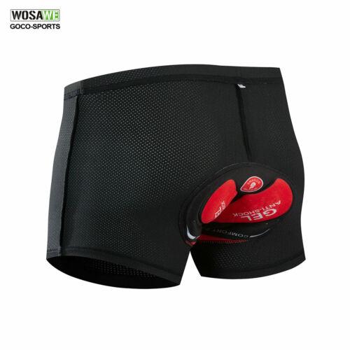 Mens Cycling Baggy Shorts MTB Mountain Bike Casual Sports Short Pants Black