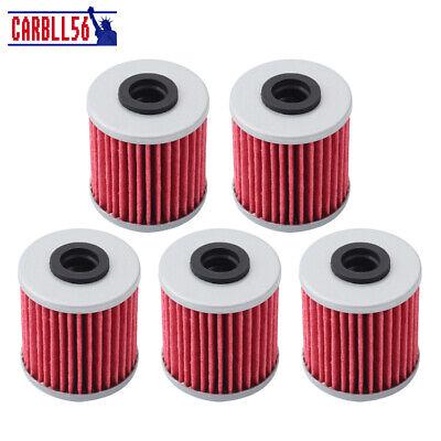 4 Pack HiFloFiltro Oil Filters For The 2005-2020 Suzuki RMZ450 RMZ 450 RM-Z450