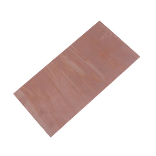 99.9/% Pure Copper Cu Metal Sheet Plate 0.5mm*200mm*100mm RS
