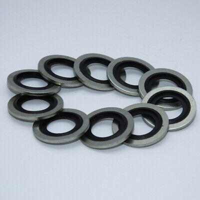 10-pack RUB-12mm M12 Rubber O-Ring Replacement washer gasket fits PSR0104R