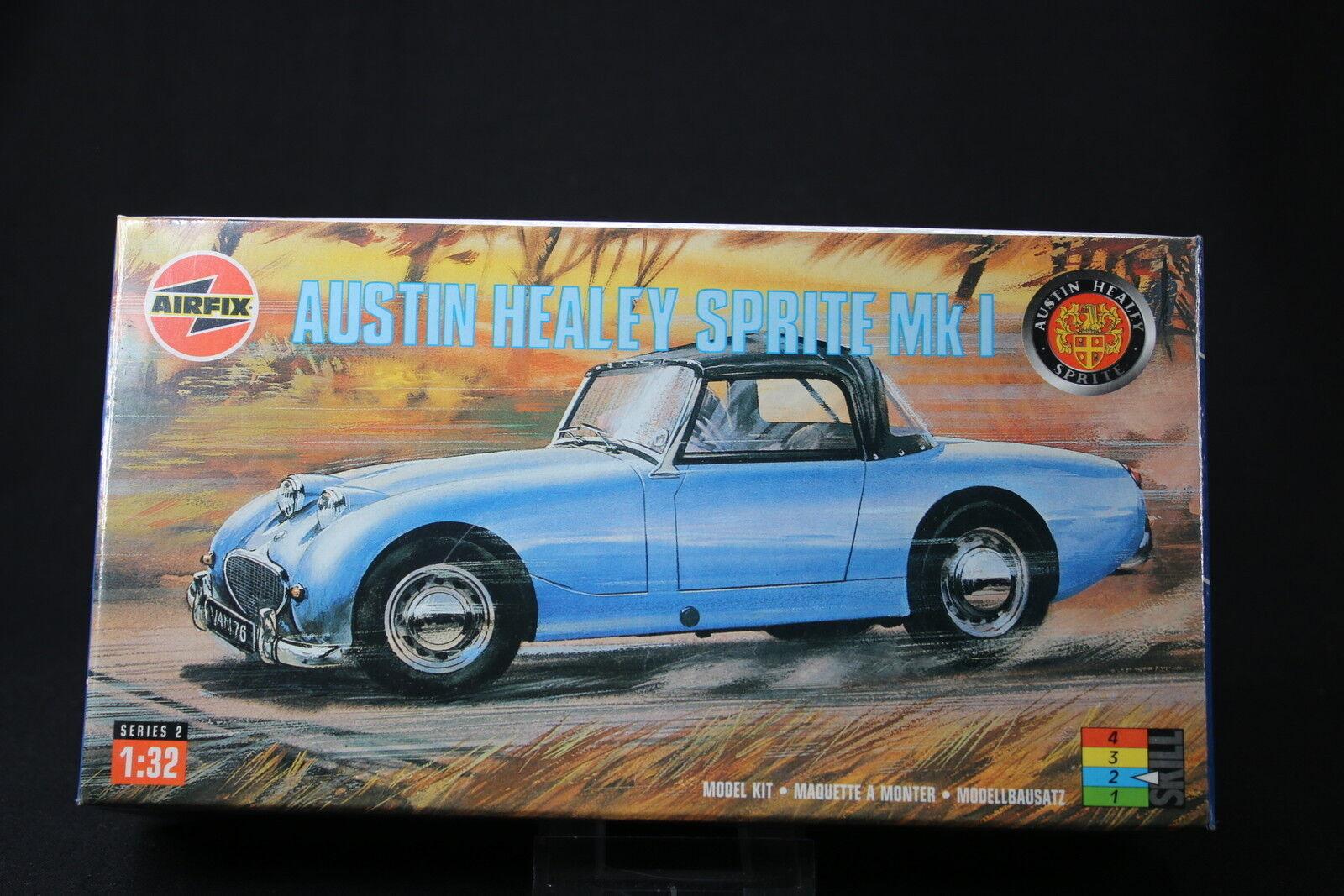 nueva gama alta exclusiva XL264 AIRFIX 1 32 maquette voiture 02421 02421 02421 Austin Healey Sprite Mk1 NB 1997  envio rapido a ti