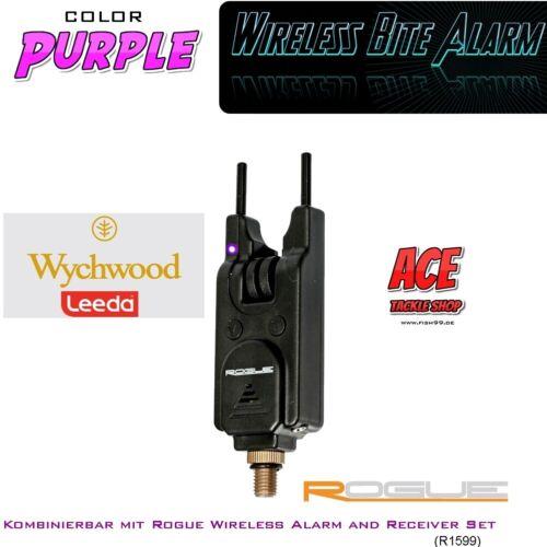 Concurrençant-Bissanzeiger r1603 en purple pour Leeda Rogue Funk Bissanzeiger Set