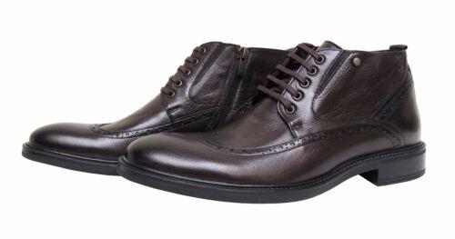 44 da elegante Stivali vera marrone Gr in uomo pelle 07d7Fqw