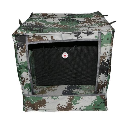 Faltbare Schallschutz  Target Box Recycling Munition Fall Katapult