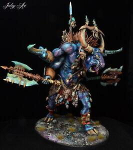 Warhammer-Age-of-Sigmar-betes-du-chaos-Cygor-Ghorgon-bien-peint
