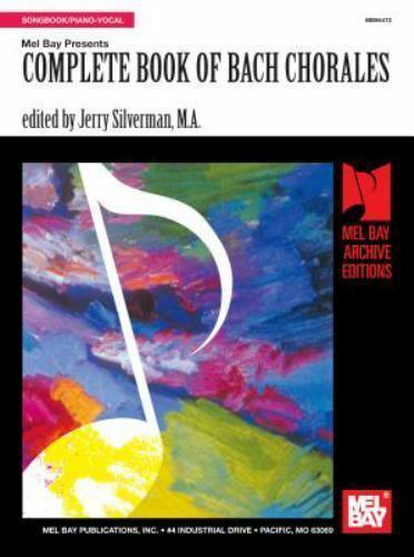 Complete Book of Bach Chorales Paperback Jerry Silverman