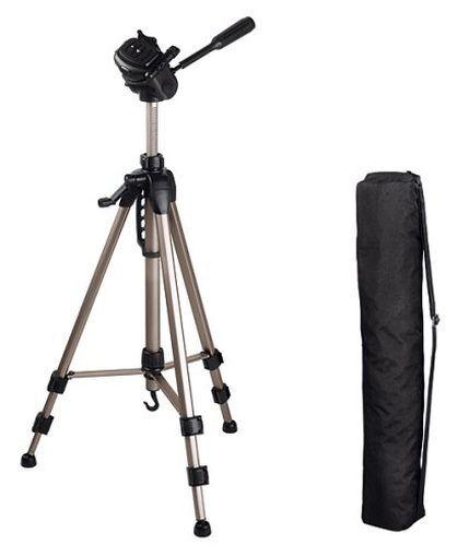 Hama Aluminium Camera Tripod Star 62 with Free Case, Brand New, 00004162