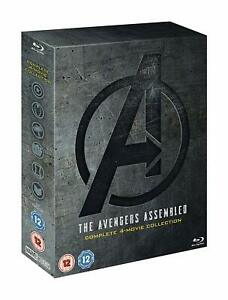 AVENGERS-1-4-Blu-ray-Box-Set-The-Complete-4-Movie-Marvel-Collection-Endgame
