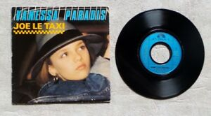 S-DISQUE-VINYLE-45T-SP-VANESSA-PARADIS-034-JOE-LE-TAXI-034-1987-POP-ROCK