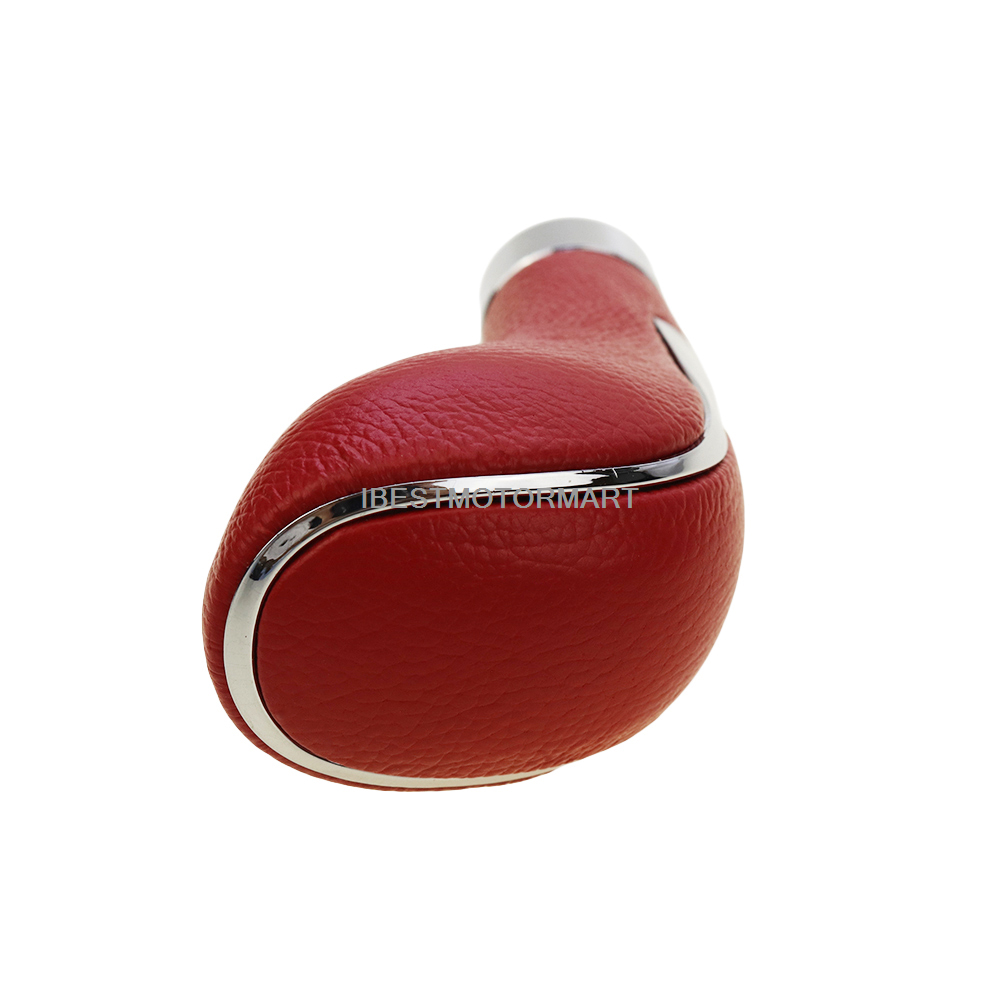 AUTUT Silicone Car Gear Shift Knob Cover Protector Red