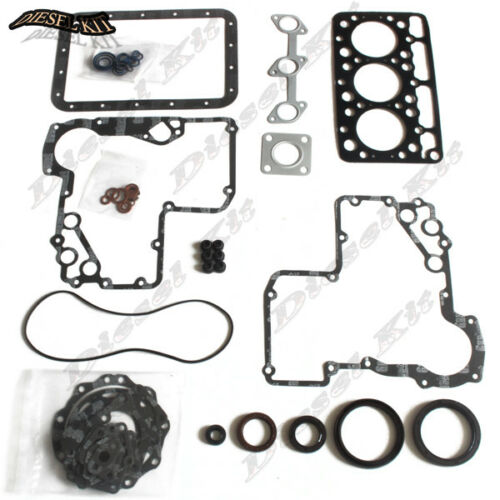 Kubota D750 D750-B Engine Gasket Kit For B5200D B5200E B7100 B1702DT Tractor