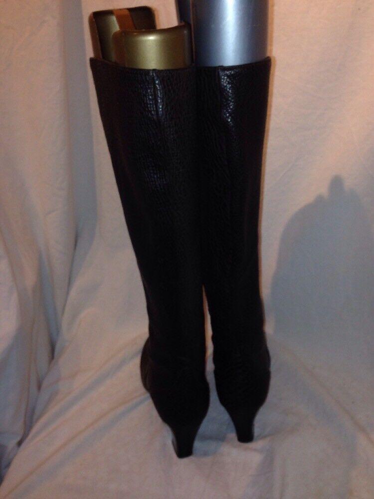 Burberry ladies brown croc ref print boots ref croc ba06 91feea