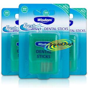 3x-Wisdom-Fresh-Effect-Extra-Minty-Mint-Fluoride-Dental-Sticks-100-Woodsticks