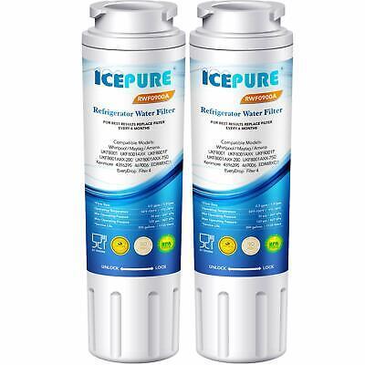 2X Refrigerator Water Filter for Amana ASD2620HRW