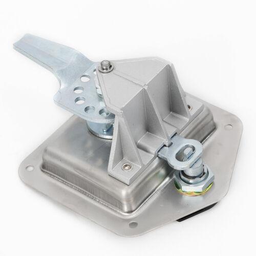 Camión caja de herramientas castillo T-mango RV remolque de acero inoxidable lata estrenar prácticamente