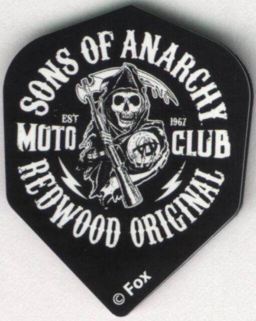 SONS OF ANARCHY Redwood Original Dart Flights: 3 per set