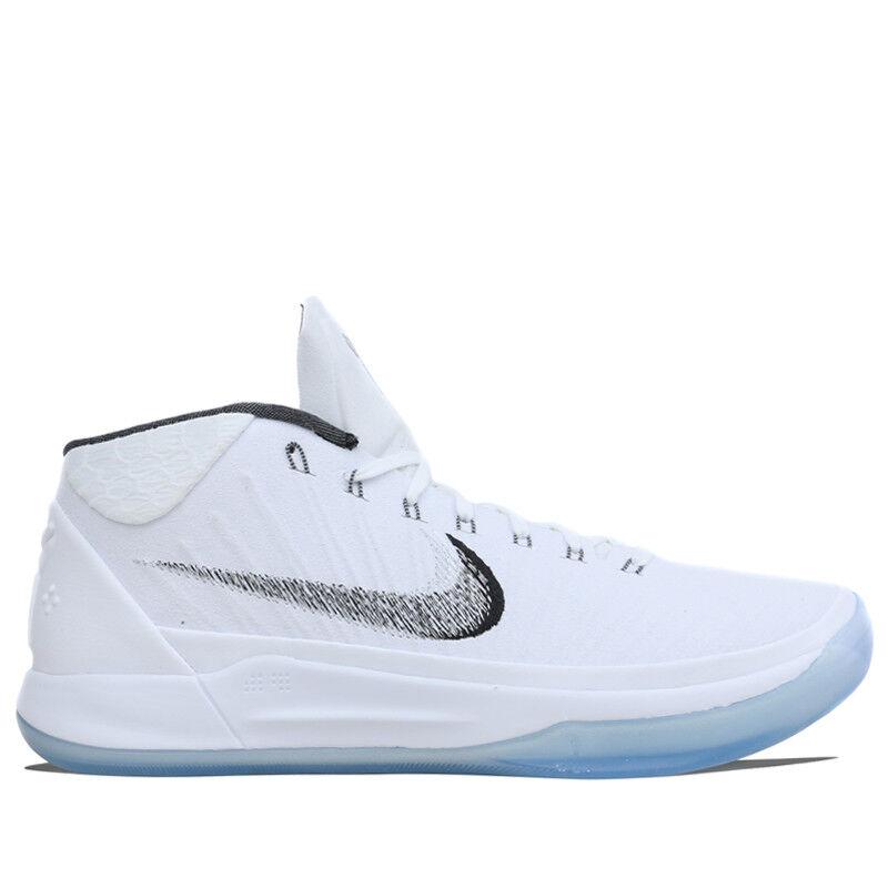 Nike uomini kobe (pe bryant bianco metallico, scarpe da basket ao9050-100 us7-11 04
