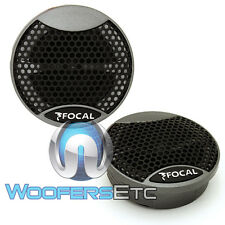 FOCAL TNI-1.5 CAR AUDIO INTEGRATION SERIES SOUND QUALITY TWEETERS & RESISTORS
