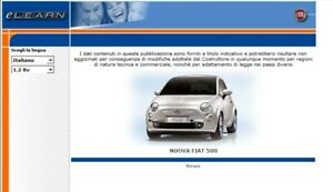 Fiat Nuova 500 manuale officina repair manual My 2007--/>