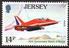 RAF Hawker Siddeley / BAE HAWK (RED ARROWS) Aircraft Stamp (1990 Jersey)