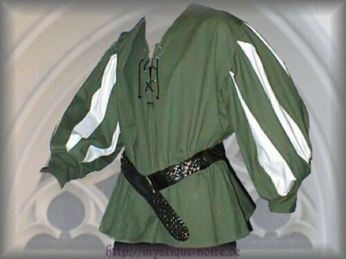 Medival Landsquenet Shirt Cotton Middle Ages SCA Larp Reenactment