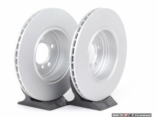 Meyle Rear Brake Rotors - 40406018 345x24 Pair