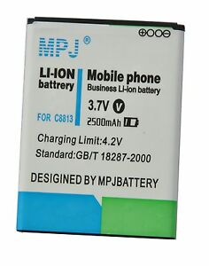 MPJ-2500mAh-Extended-Battery-FOR-HUAWEI-G520-8951-HB4W1-G525-C8813-G510-c8813Q