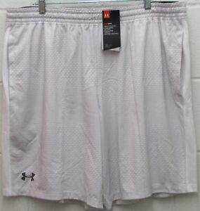 profundidad Alérgico seguramente  Under Armour Men's Heat Gear Raid Shorts Fitted Stretch White Gray Size 3XL  New | eBay