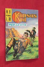 fumetto KANSAS KID EDITORIALE CORNO numero 9