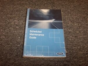 ford mustang owner owners operator guide manual set