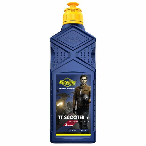 Putoline Tt Scooter + Plus Cyclomoteur Entièrement Synthétique Bas Fumé 2 Coup